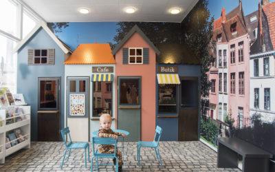 La biblioteca infantil de Fredericia, Dinamarca