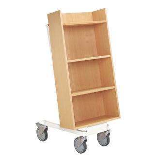 Carro carrito libros para biblioteca