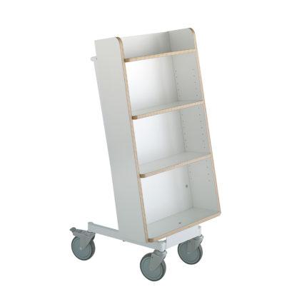 Carro o carrito libros para biblioteca