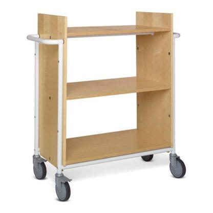 carrito para bibliotecas