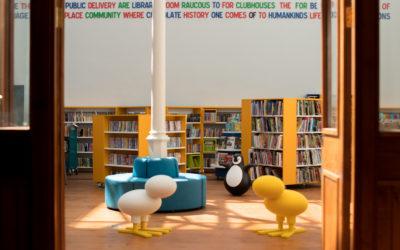 La biblioteca de Kevin Street, Dublin