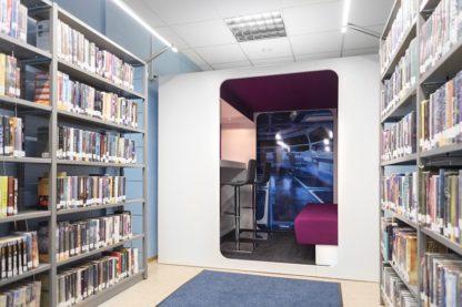 mobiliario juvenil biblioteca